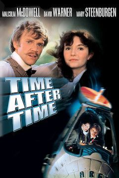 Time After Time movie poster.