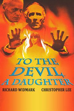 To the Devil a Daughter movie poster.