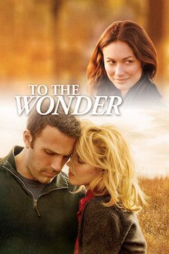 To the Wonder movie poster.