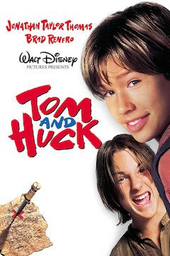 Tom and Huck movie poster.