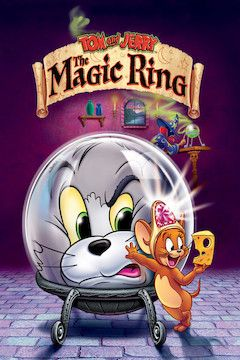 Tom and Jerry: The Magic Ring movie poster.