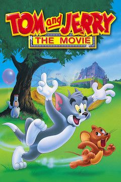 Tom and Jerry: The Movie movie poster.