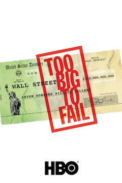 Too Big to Fail movie poster.