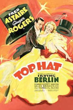 Top Hat movie poster.