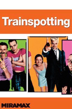 Poster for the movie Trainspotting