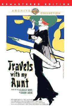 Poster for the movie Travels With My Aunt
