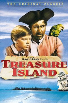 Treasure Island movie poster.