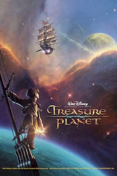 Treasure Planet movie poster.