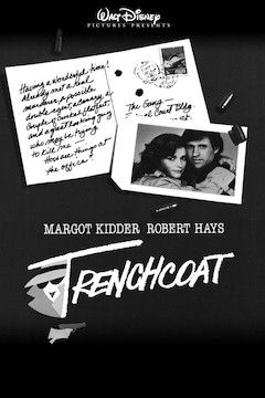 Trenchcoat movie poster.