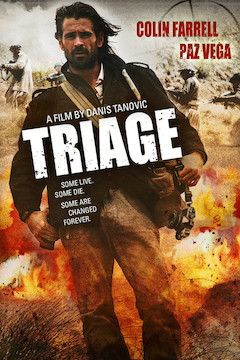 Triage movie poster.