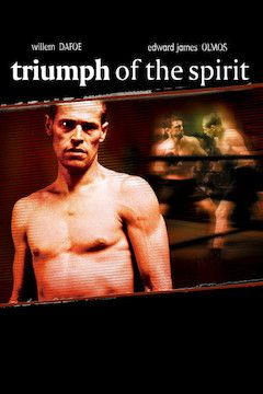 Triumph of the Spirit movie poster.