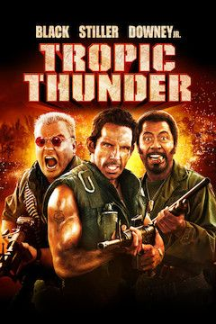 Tropic Thunder movie poster.