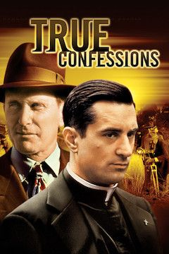 True Confessions movie poster.