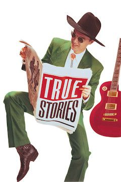 True Stories movie poster.