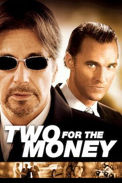 Two for the Money movie poster.