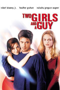 Two Girls and a Guy movie poster.