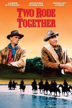 Two Rode Together movie poster.