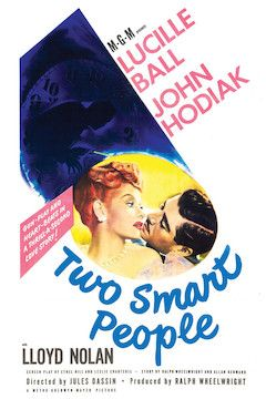 Two Smart People movie poster.