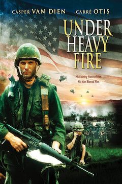 Under Heavy Fire movie poster.