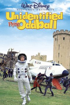 Unidentified Flying Oddball movie poster.