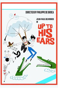 Up to His Ears movie poster.