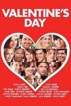 Poster for the movie Valentine's Day