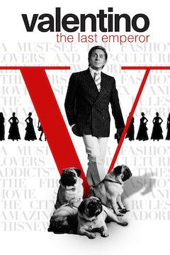 Poster for the movie Valentino: The Last Emperor