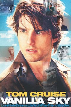 Vanilla Sky movie poster.