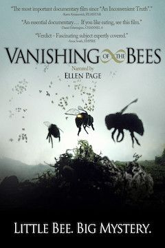 Vanishing of the Bees movie poster.