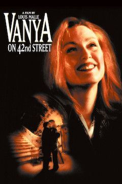 Vanya On 42nd Street movie poster.