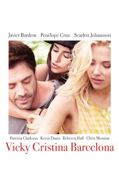 Poster for the movie Vicky Cristina Barcelona