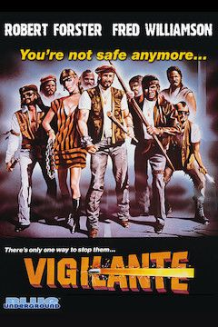Vigilante movie poster.