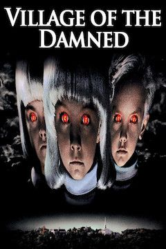 Village of the Damned movie poster.