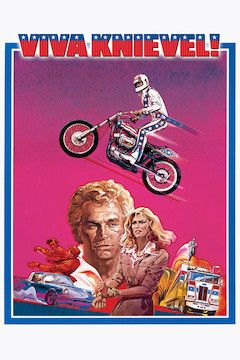 Viva Knievel movie poster.