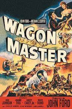 Wagon Master movie poster.