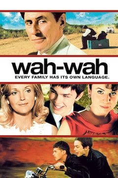 Wah-Wah movie poster.