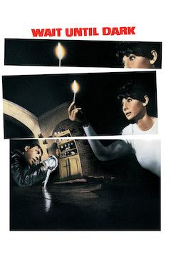 Wait Until Dark movie poster.