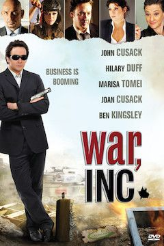 War, Inc. movie poster.