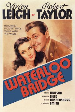 Waterloo Bridge movie poster.