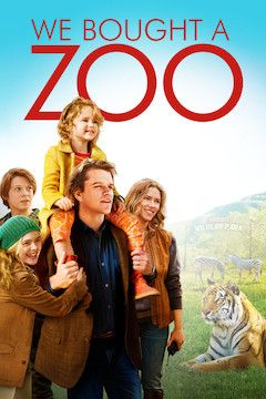 Poster for the movie We Bought a Zoo