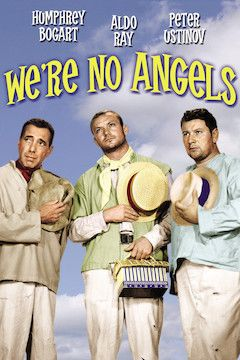 We're No Angels movie poster.