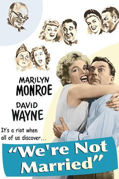 We're Not Married movie poster.