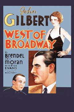 Poster for the movie West of Broadway