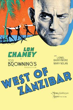 West of Zanzibar movie poster.