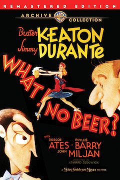 What! No Beer? movie poster.
