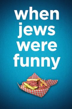 When Jews Were Funny movie poster.