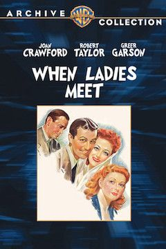 When Ladies Meet movie poster.