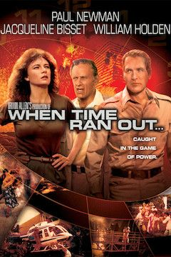 When Time Ran Out movie poster.
