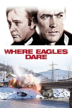 Where Eagles Dare movie poster.
