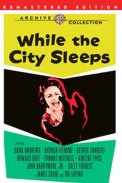 Poster for the movie While the City Sleeps